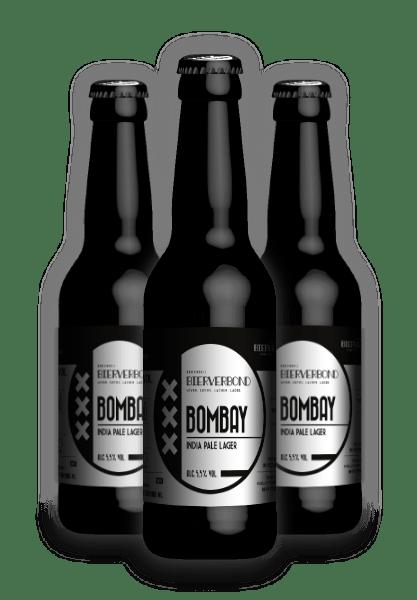 Bombay, India Pale Lager van Brouwerij Bierverbond Amsterdam