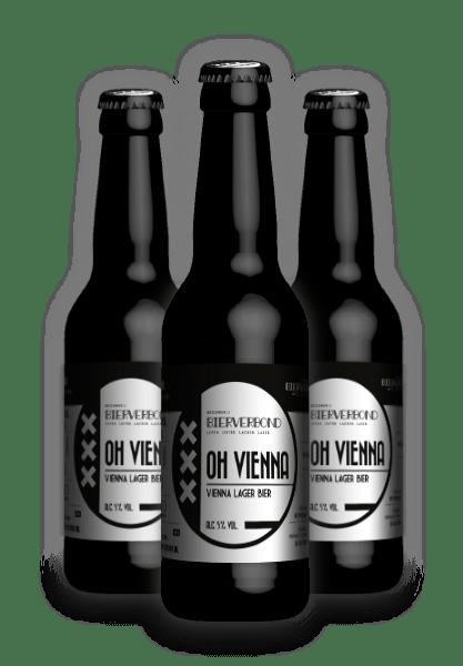 Oh vienna, Vienna lager beer by Brewery Bierverbond Amsterdam