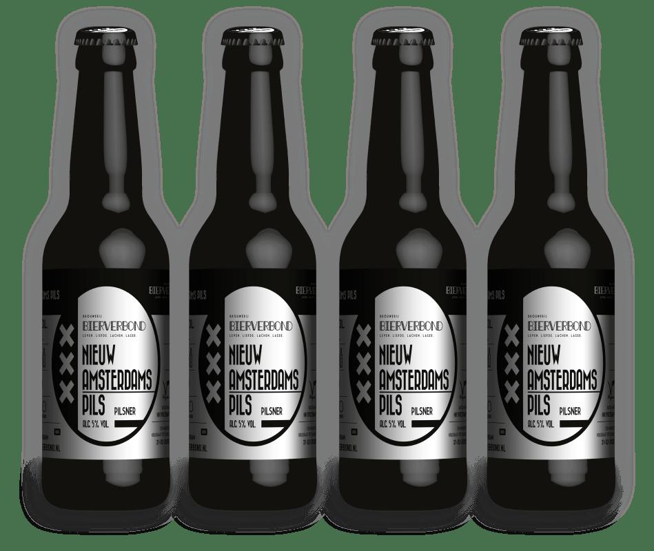 Nieuw Amsterdam Pils - Pils van Brouwerij Bierverbond Amsterdam