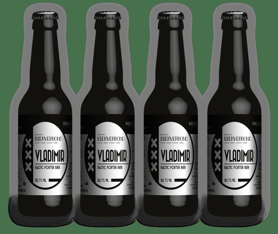 Vladimir Baltic porter beer from Brewery Bierverbond Amsterdam