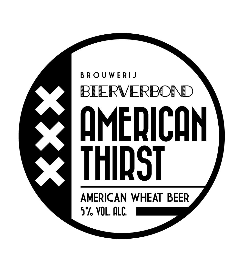 American Thirst Tapruiter der Brauerei Bierverbond Amsterdam