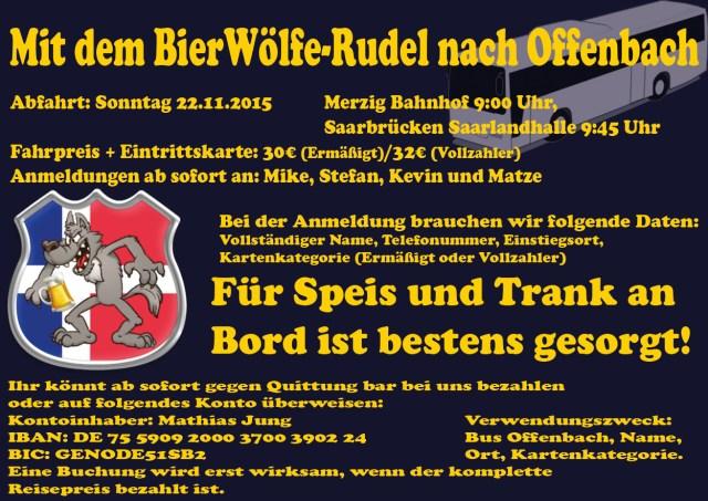 Flyer Busfahrt Offenbach 22.11.2015