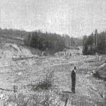 16_Frühjahr 1949 Die Aufschüttung des Platzes ist beendet, doch man wartet auf die Millionen zum Baubeginn