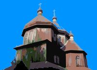 Cerkiew w Bystrem o Bies Czad Bluesie