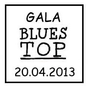 Gala Blues Top 2012