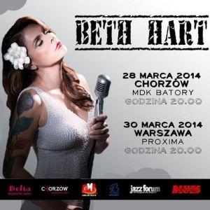Beth Hart w Chorzowie i Warszawie