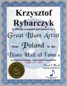 Blues_Hall_of_Fame_Great_Blues_Artist_Poland_Krzysztof_Rybarczyk