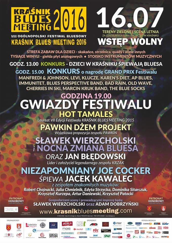 Krasnik_Blues_Meeting_2016_plakat