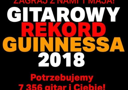 Gitarowy Rekord Guinnessa 2018