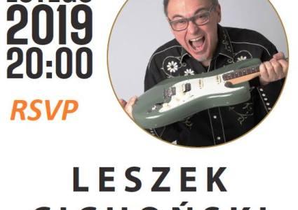Bielszy Odcień Bluesa LIVE! – Leszek Cichoński Guitar Workshop