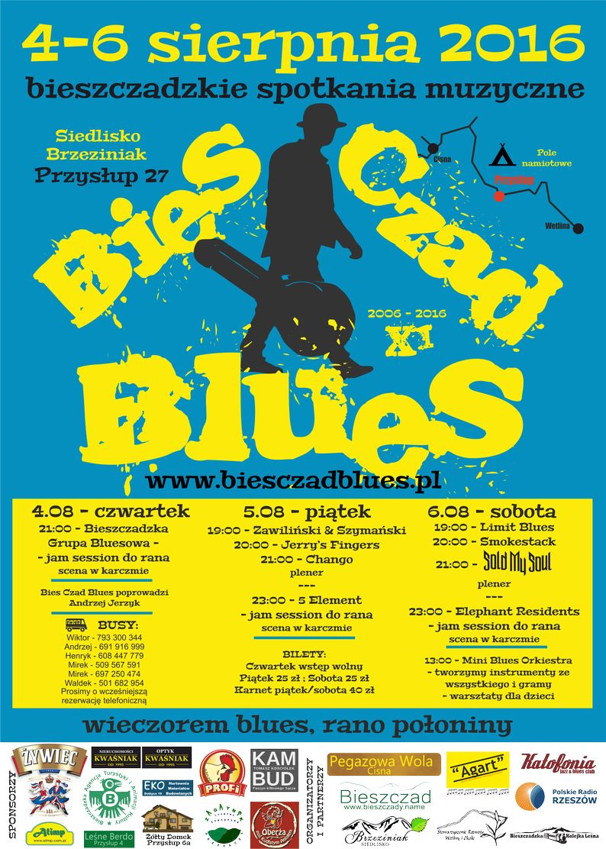 Bies_Czad_Blues_2016_plakat