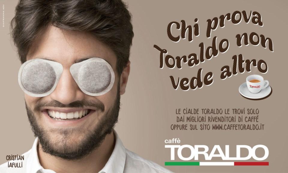 Italiens tekst, mann, kaffeposer