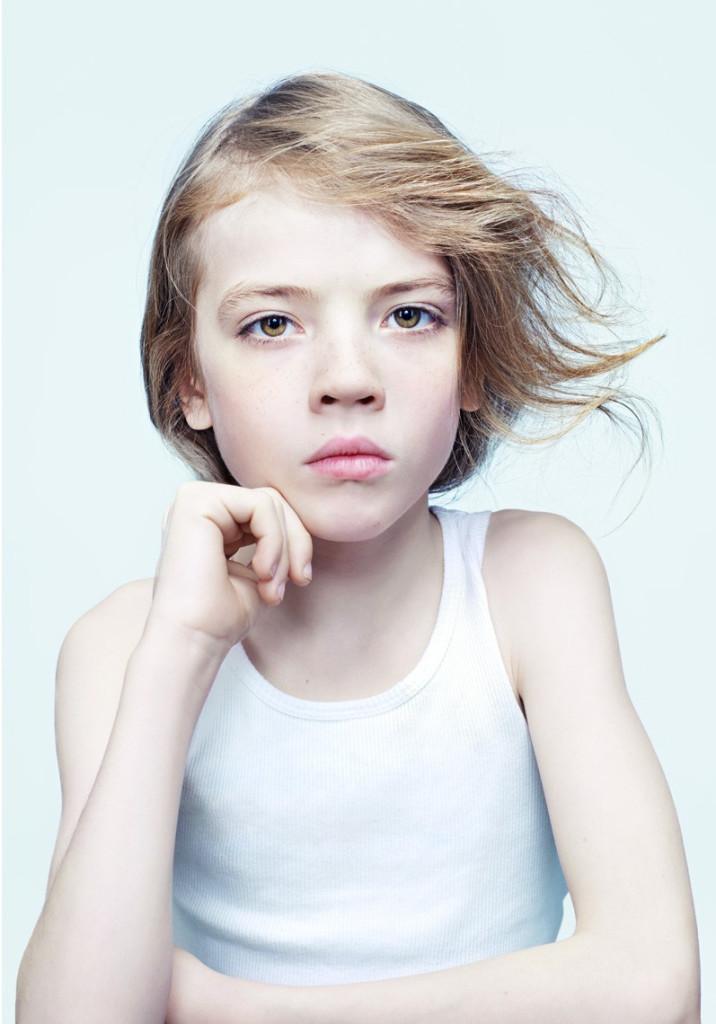 portrett jente studio
