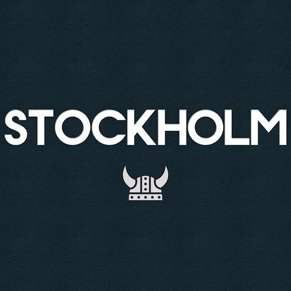 stockholm og en hjelm