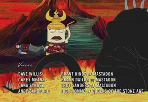 Aqua Teen Josh Homme Mastadon