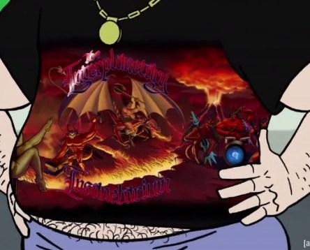 Aqua Teen Shirt Herpes