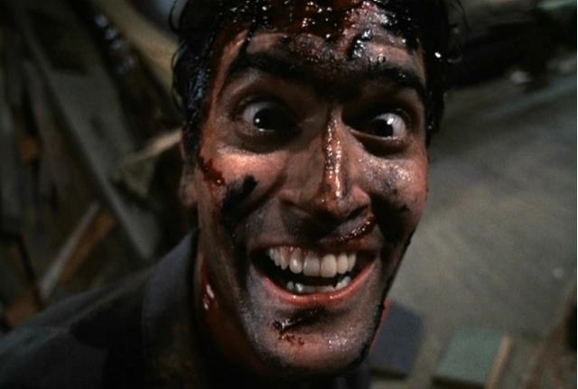 Evil Dead 2 Ash Crazy