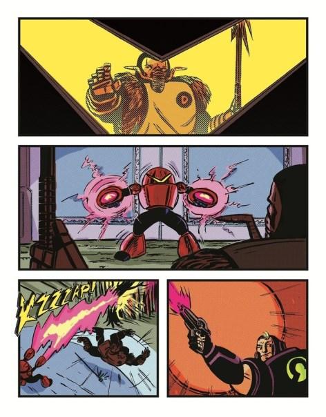 Mini Comics Included