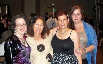 Marianne, Jane, me, Patti