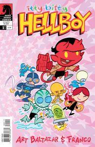 itty bitty Hellboy 1 cover