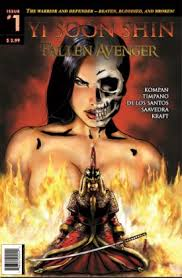 Yi Soon Shin Fallen Avenger cover