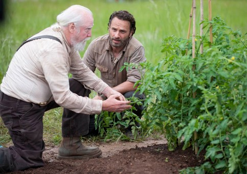 Hershel and Rick season 4