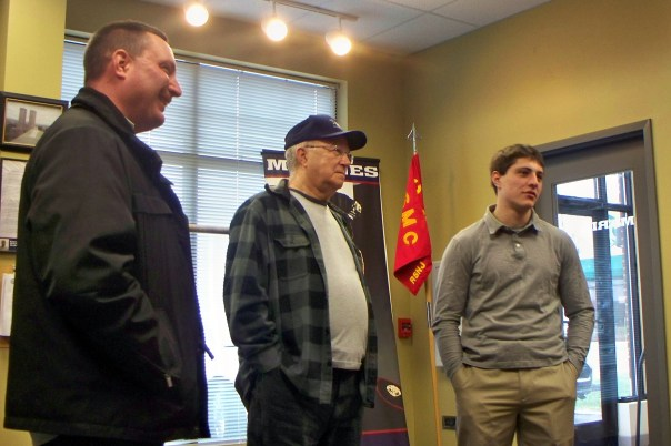 Jim with Dad & Grandpop