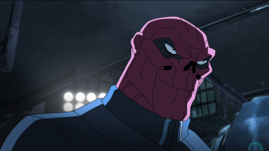 Why is the Red Skull smiling?  Just wait...