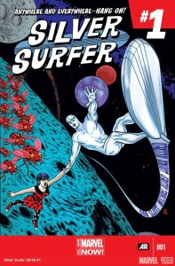 Silver Surfer 1 cover