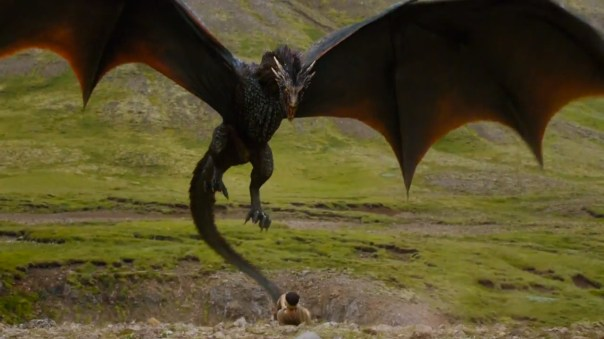 ..dragons are like kittens, they're just not as cute when they get big (and bloodthirsty)