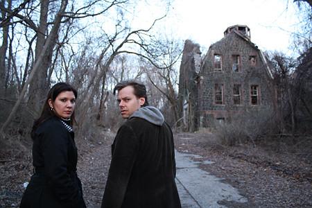 Directors Josh and Barbara near Seaview Photo: Chad Davidson