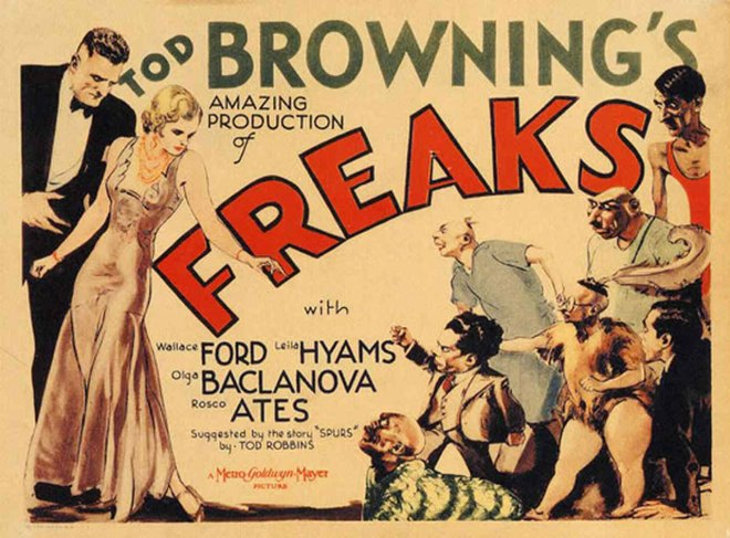 Promotional poster for Freaks (1932)