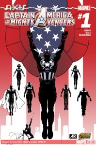 Captain America and the Mighty Avengers 1 cover