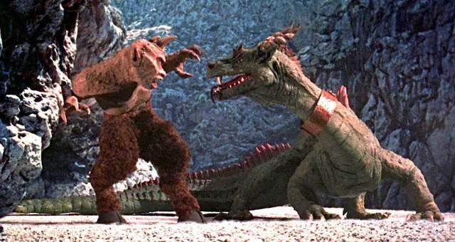 Sinbad Dragon vs Cyclops