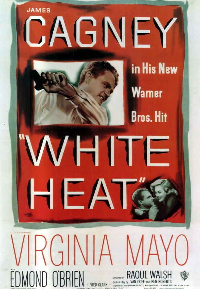 Promotional poster for White Heat (1949).