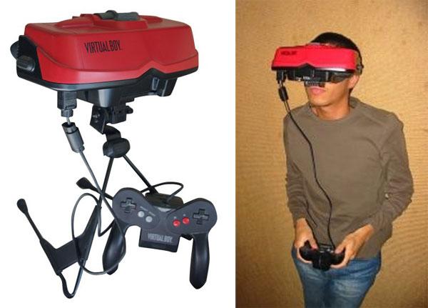 The Virtual Boy. So...um...red.