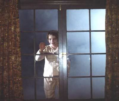 ...nothing scary about a dead kid hovering outside your window, right?