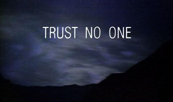 trust no1 - xfiles