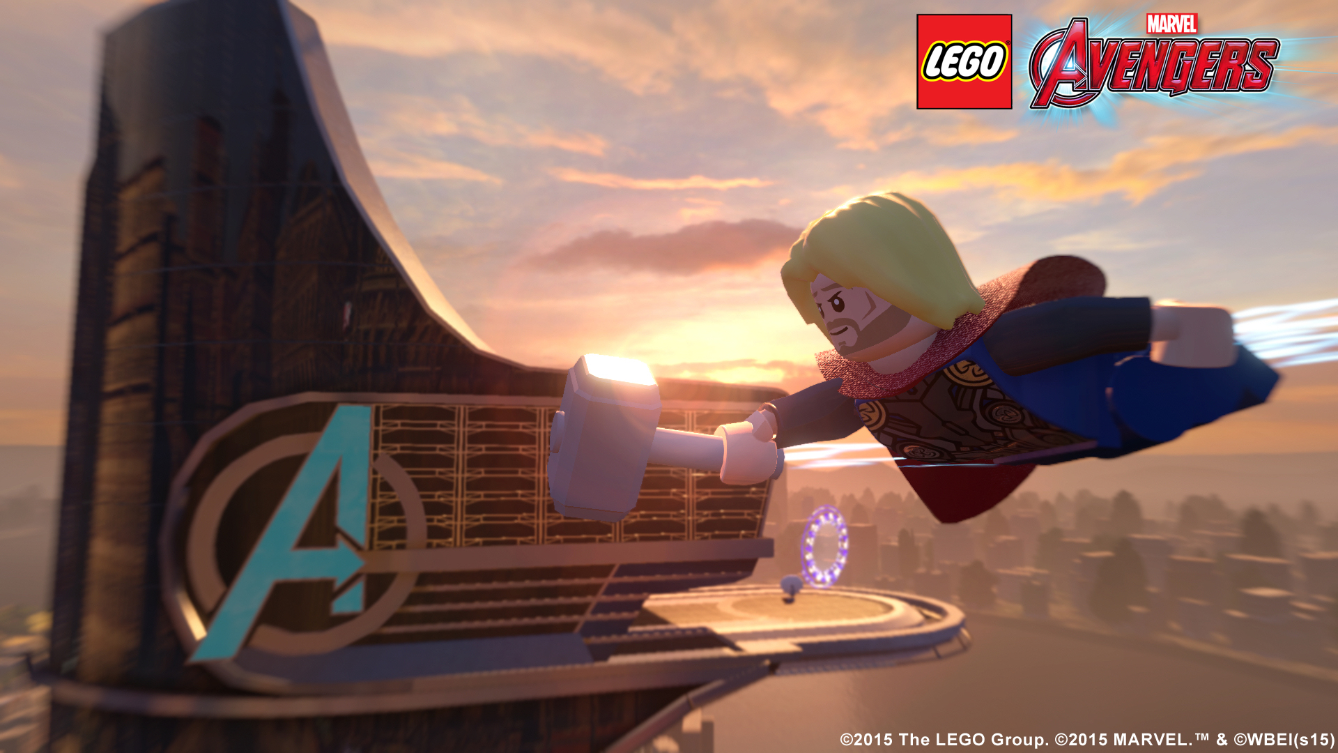Check Out The Lego Marvel S Avengers Free Roam Trailer