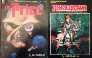 Dreadstar graphic novels