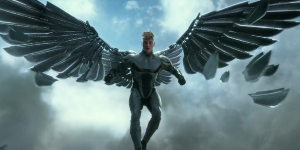 ..sort of like an Angel with adamantium wings...