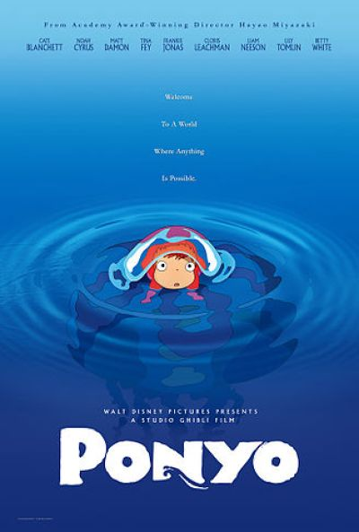 Ponyo movie poster