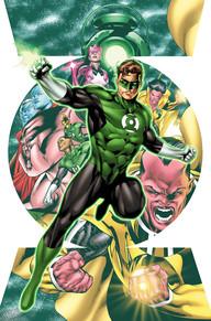 Hal Jordan Green Lantern Corps 1 cover