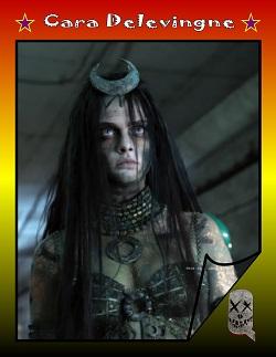 Actor Trading Cards - Suicide Squad - Cara Delevingne