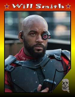 Actor Trading Cards - Suicide Squad - Will Smith