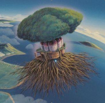 Castle in the sky tree