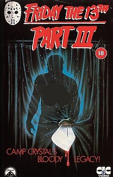..for example, Friday the 13th Part III is really about how societal pressures make us...never mind, I just can't...
