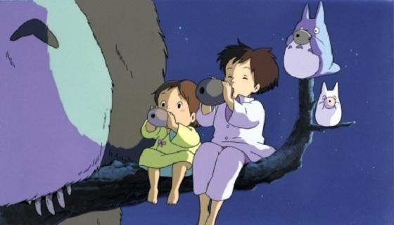 Totoro in Tree