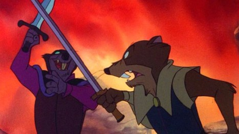 The Secret of NIMH swords