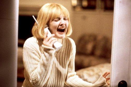 SCREAM, Drew Barrymore, 1996